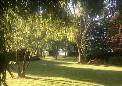 parc jardin les marches