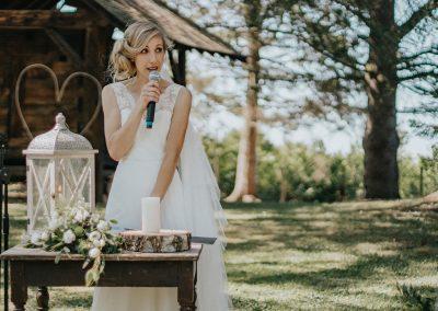 mariée parc