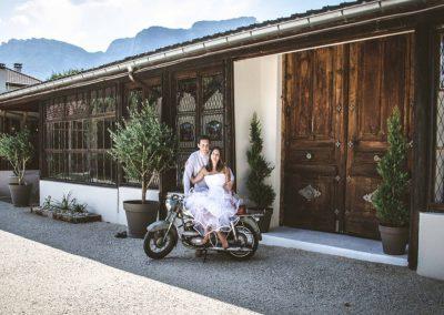 mariage motards