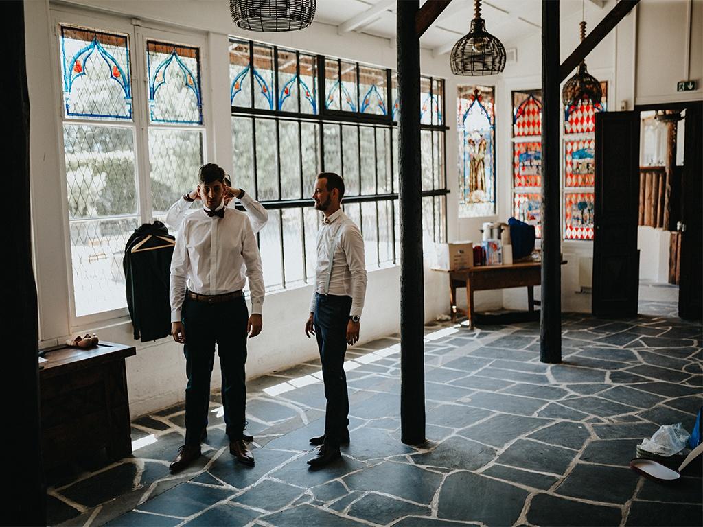 salle vitraux mariage savoie