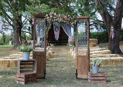 mariage champetre savoie