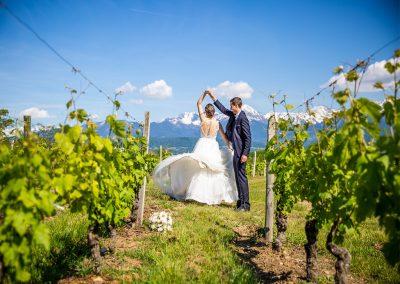 vignoble mariage savoie