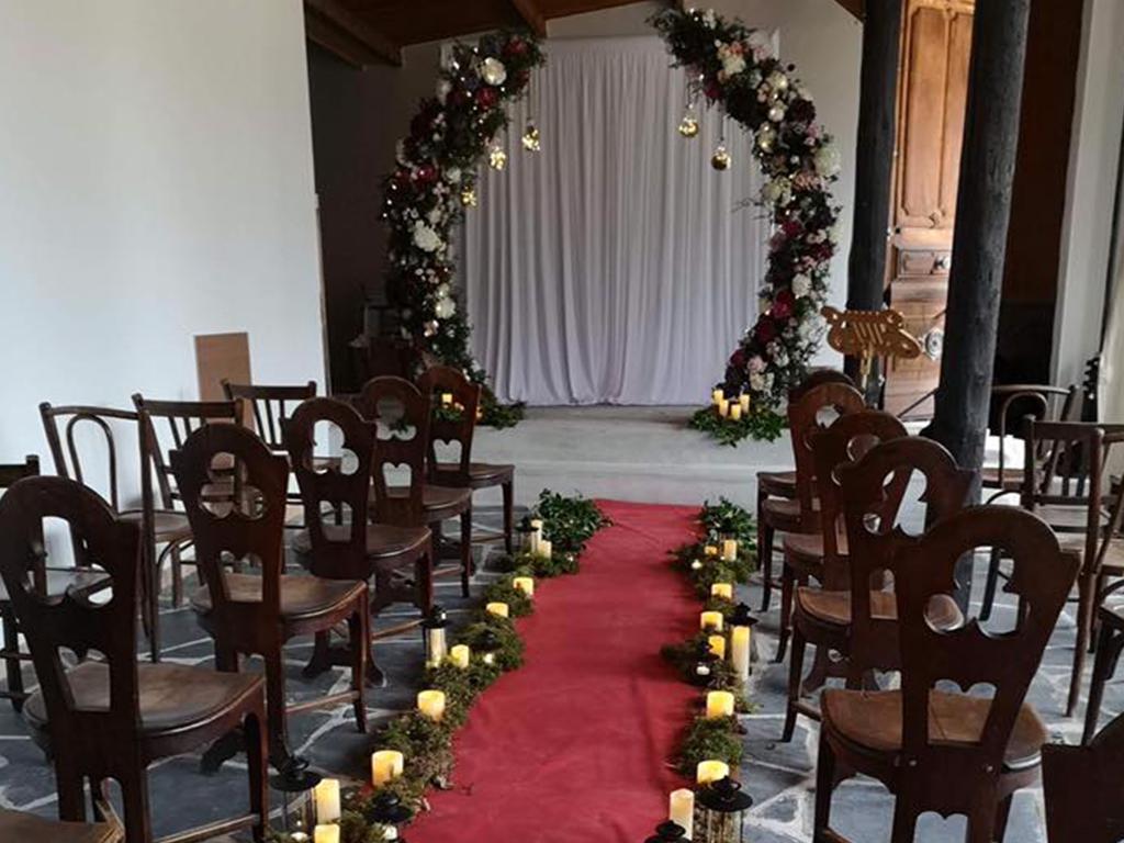 salle ceremonie vitraux